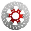 Плаващ диск преден Ø 240 червен MBK NITRO / YAMAHA AEROX