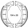 Накладки барабанни - 104 x 20мм - PIAGGIO ZIP 50
