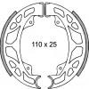 Накладки барабанни - 110 x 25мм - PIAGGIO HEXAGON 125сс