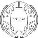 Накладки барабанни - 100 x 20мм - PIAGGIO NRG 50 / GILERA STORM 50