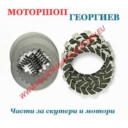 Съединител дискове Kevlar Carenzi Derbi Senda Euro 2 / 3 50cc