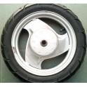 Задна джанта с гума за скутер - Yamaha J10 x 2.15 DOT - /втора употреба/