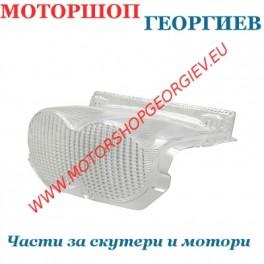 Стъкло за стоп MBK Ovetto / Yamaha Neo's (Бял)
