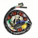 Статор и магнет за китайски скутери GY6 125CC 4T 152QMI