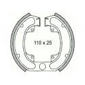 Накладки барабанни - 110 х 25мм - CPI HONDA 50cc 100cc