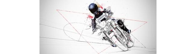 Облекла и каски за мотористи